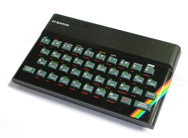 ZX Spectrum: Photo by Bill Bertram