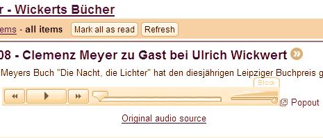 Rache der Praktikanten in der Podcast-Abteilung? Clemenz Meyer und Ulrich Wickwert.