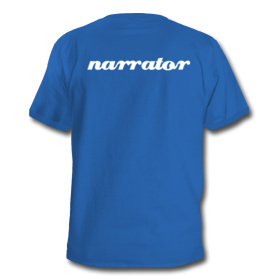 Unreliable Narrator T-Shirt (back)