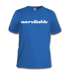 Unreliable Narrator T-Shirt (front)