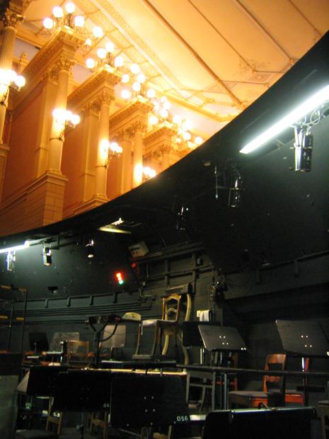 Mystischer Abgrund, Festspielhaus Bayreuth