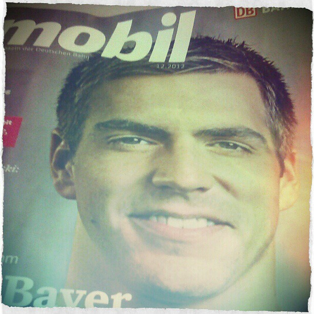Photo: Gibt es überhaupt auch Ausgaben der Mobil, wo Philipp #Lahm nicht auf dem Cover ist? Hat da mal einer mitgezählt?