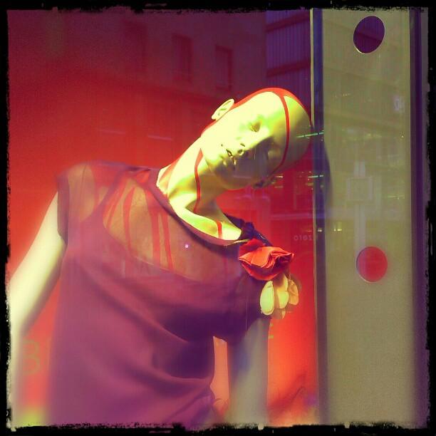 Photo: #Bleeding #Mannequin in #Mannheim.