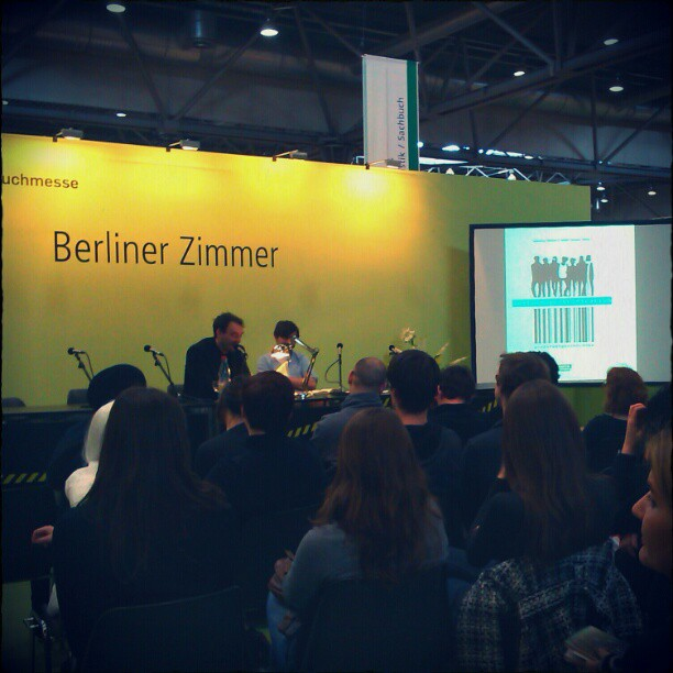 Photo: Sebastian Lehmann und Volker Surmann: Lost in Gentrification. #halblustig #Berlin