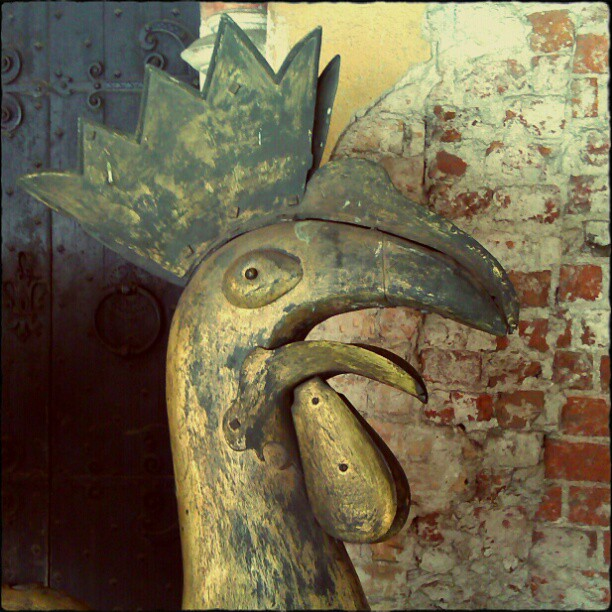Photo: #Cock at #Riga #cathedral.