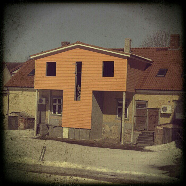 Photo: #skull #house #Viljandi #Estonia