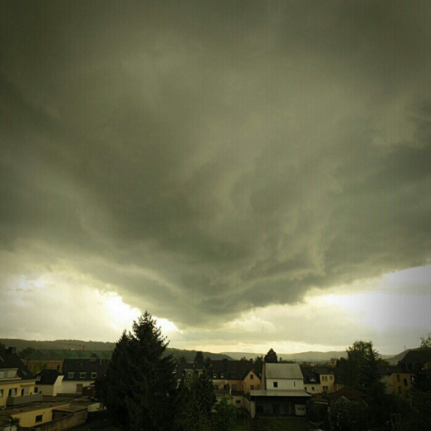 Photo: #April #shower. #clouds #weather #sky #Trier
