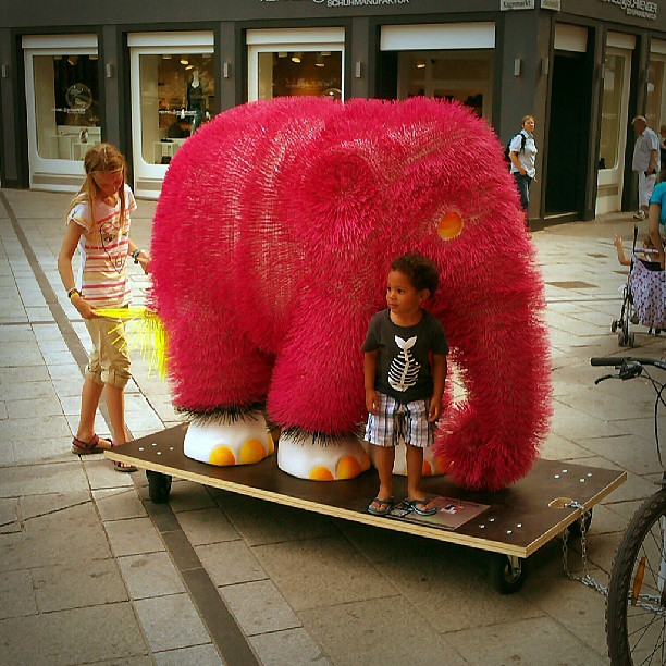 Photo: #Phant in #Trier. #elephant #parade