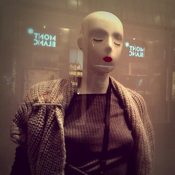 Photo: #Mannequin #Leipzig #eyes #lips