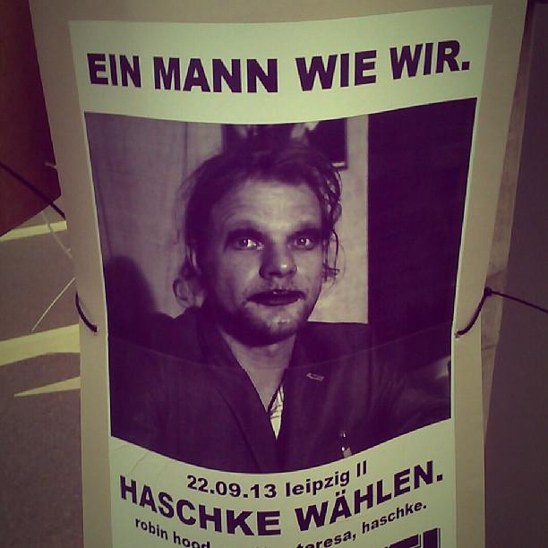 Photo: Das sympathischste Wahlplakatgesicht der kommenden Wahl bisher. Leider nicht mein Wahlkreis.