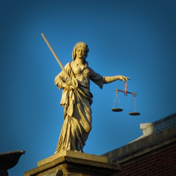 Photo: Lady #Justice at #Dublin #Castle. #Ireland