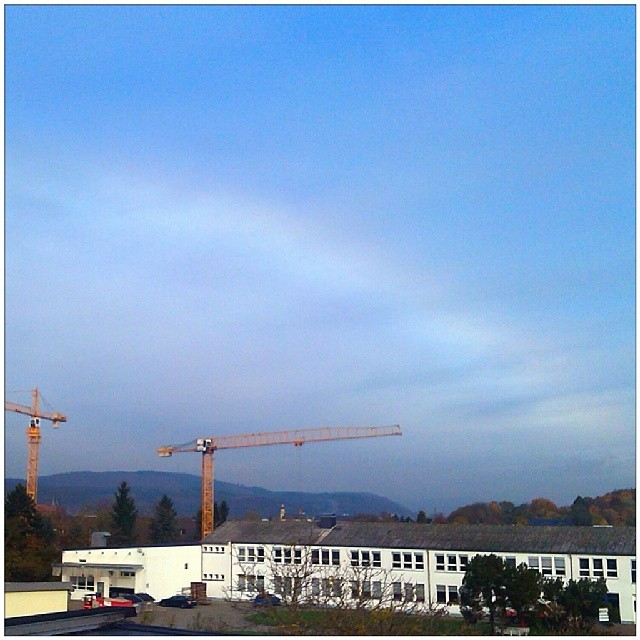 Photo: Is this a #rainbow over #Trier at the moment? Without rain?