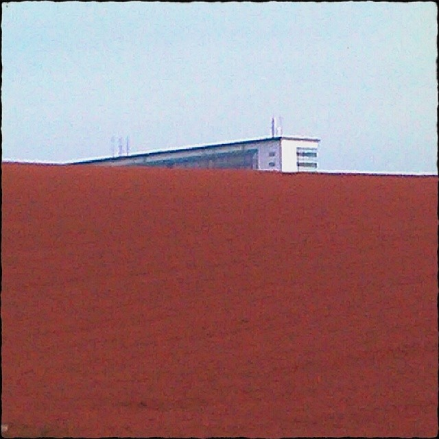 Photo: Campus 2 / #Uni #Trier. #Perspective #colours #Germany #field #Farming