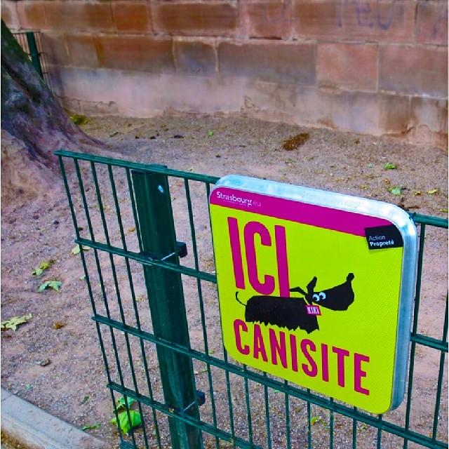 Photo: #Canisite #Hundeklo #Strasbourg #dog #shit #turd