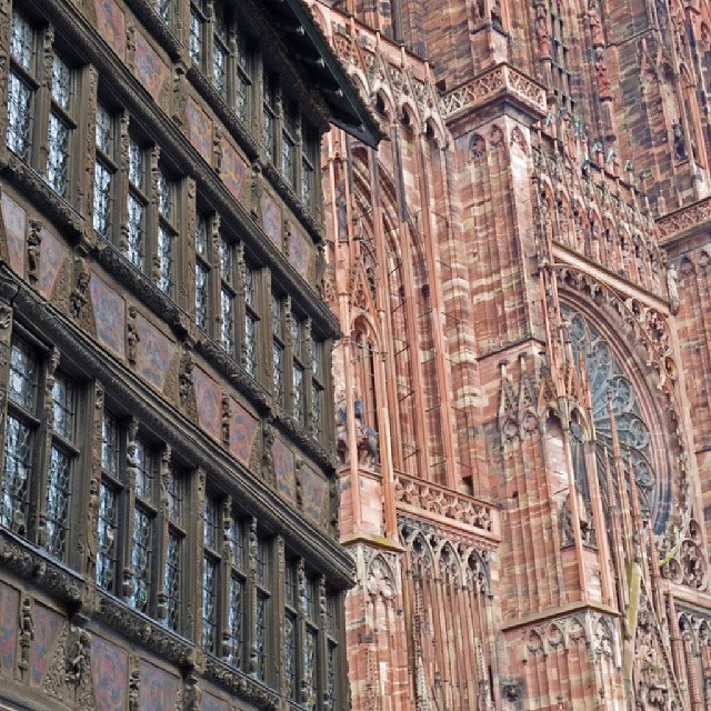 Photo: #Strasbourg #cathedral. #France #architecture