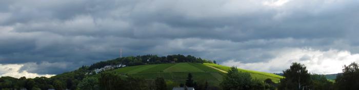 Petrisberg Wolken