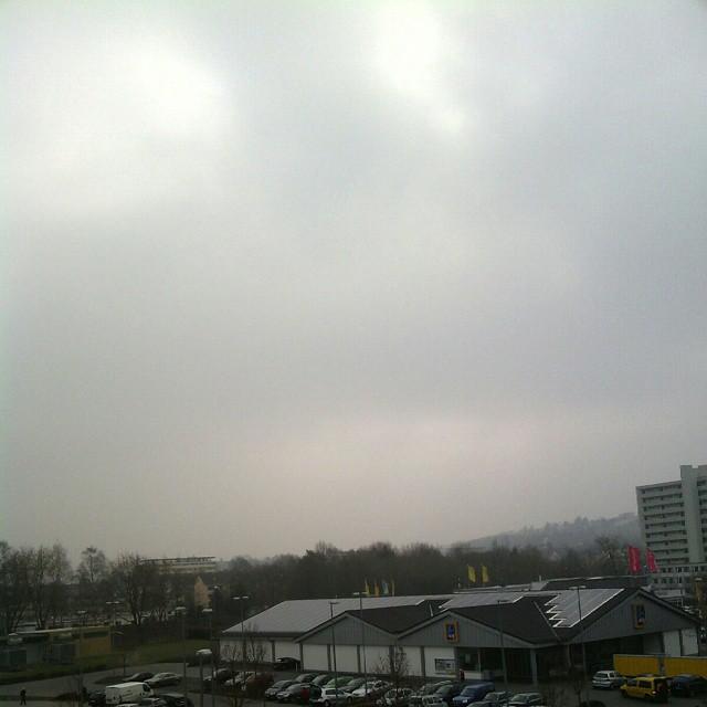 Photo: Nichts zu sehen. Für den #ARD #Wetterbericht (Tagesthemen) liegt Trier also im Norden von Rheinland-Pfalz. In Zukunft weiß ich's. #Sofi2015