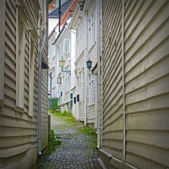 Photo: The #wooden houses od #Bergen, #Norway.