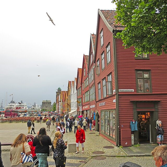 Photo: #Bryggen, #Bergen, #Norway.