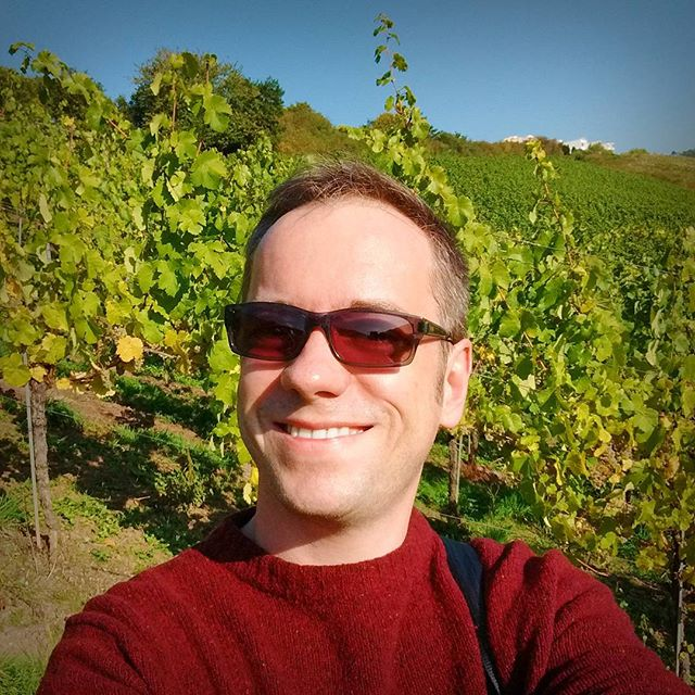 Photo: In the #vineyard. #me #wine #vine #selfie #Trier