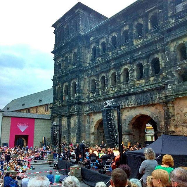 Photo: Musica ante #Porta.#Trier
