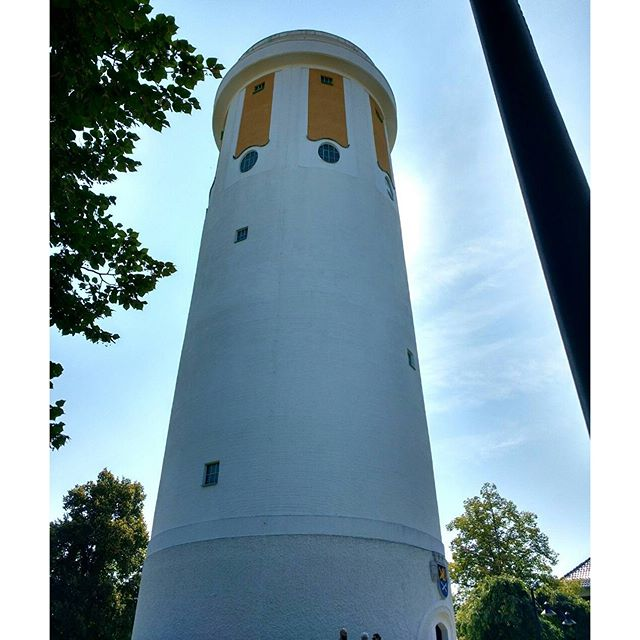 Photo: #Wasserturm in #Hockenheim zum #tagdesoffenendenkmals2016 #Spargel