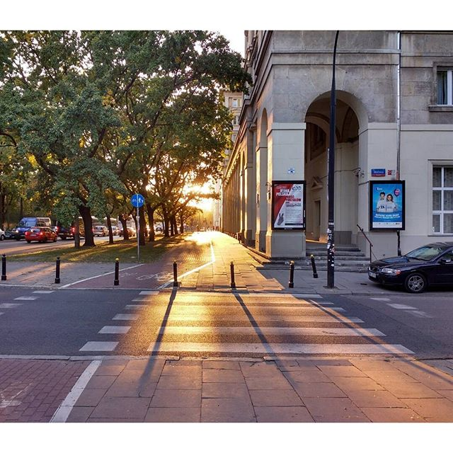 Photo: #Sun about to set in #Warsaw.