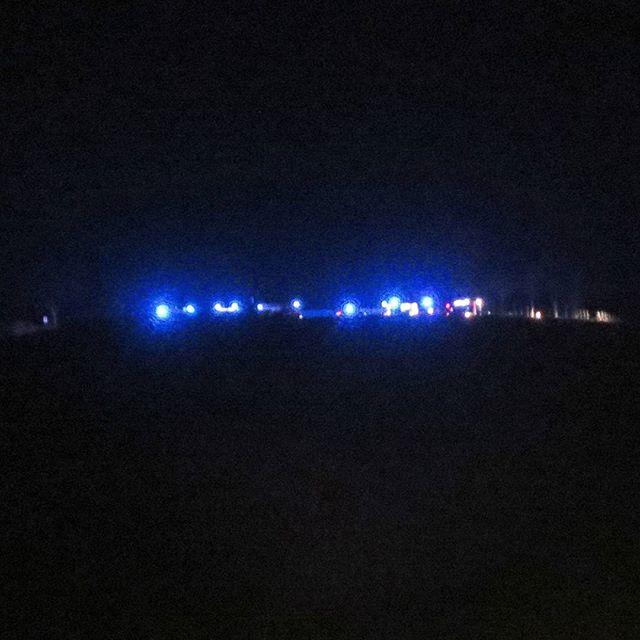 Photo: Mit ganz großem Besteck die Feuerwehr gerade in der Knutschkurve/Aussichtspunkt #Petrisberg #Trier Hat sich wer verknutscht?