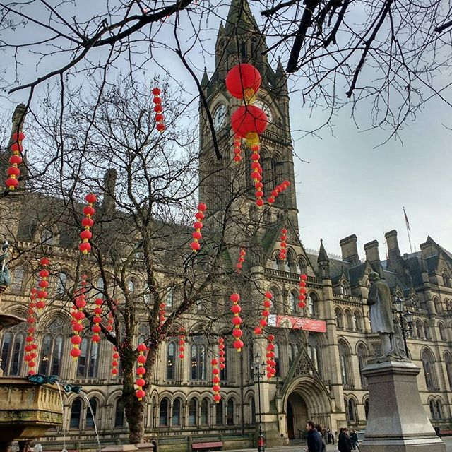 Photo: #Manchester #townhall. #Chinese #newyear