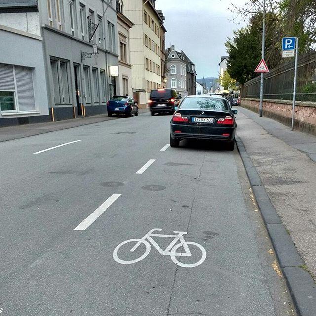 Photo: Ach, #Trier! #radfahren #fahrrad #rad