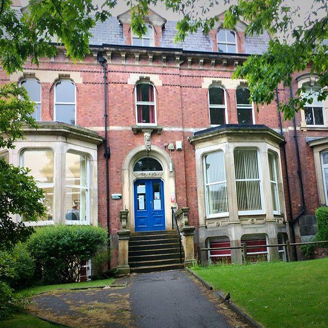 Photo: School of #English / Uni #Leeds. #memories #leedsuni #alumni #seamusheaney #jamesjoyce