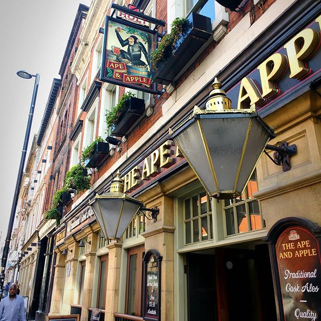 Photo: The #Ape and #Apple #pub in #Manchester. #ale #urbanjungle #bar