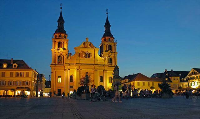Photo: Sommerabend auf dem #Marktplatz in #Ludwigsburg. #LuBu #luburulz #Markt