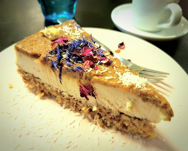 Photo: #Raw #cake @ #vegan #Inspiration, #Tallinn. #Food #glutenfree #glutenfreevegan #yummy