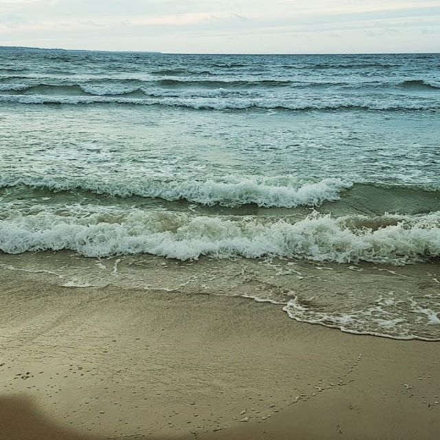 Photo: #sea #shore #loksa #beach. #lahemaa #waves