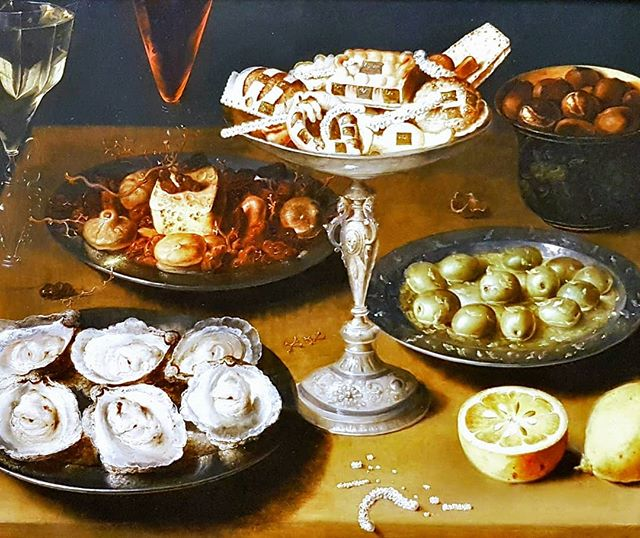 Photo: #Oyserts, #pastry and #fruit. 16th century #foodporn by #OsiasBeert. #food #painting #stilllife