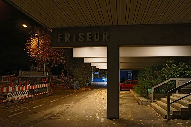 Photo: Am #Stadionbad #Ludwigsburg. #lubu #luburulz #nacht #urban #Herbst